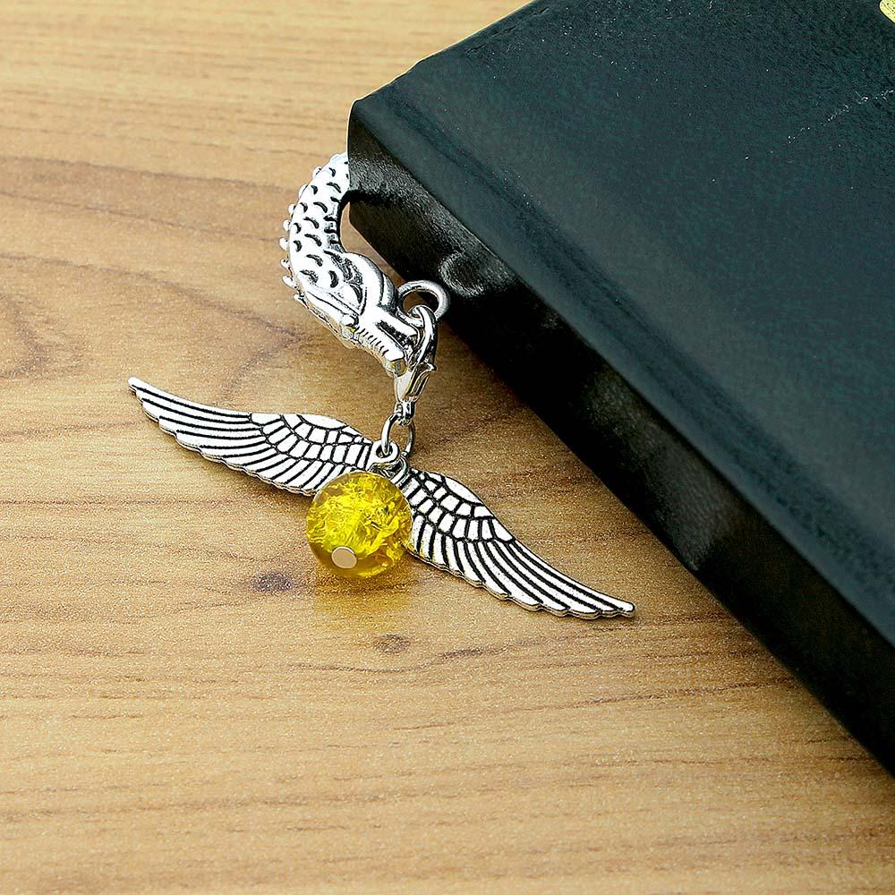 Zakładka do książki złoty znicz Harry Potter